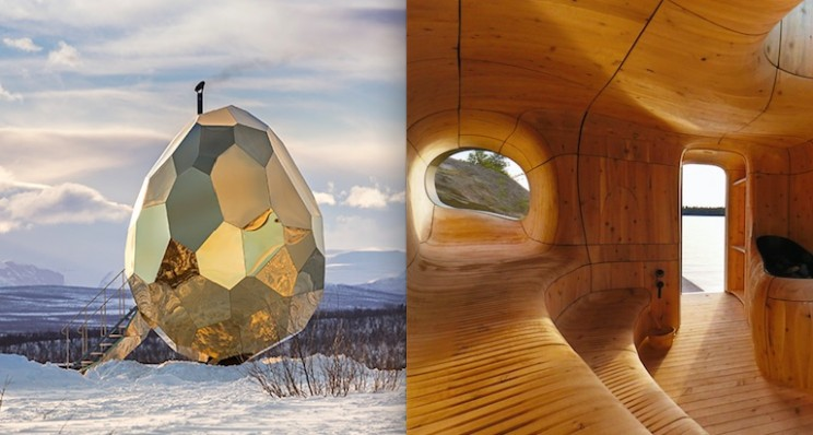 10 Modern Sauna Designs to Relax You from Busy Urban Life