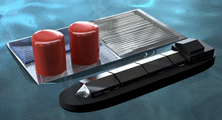 This Floating Solar Rig Produces Hydrogen Fuel Using Seawater