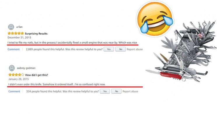 There is a Ridiculous $9,000 Swiss Army Knife on Amazon and Its Reviews Don't Disappoint