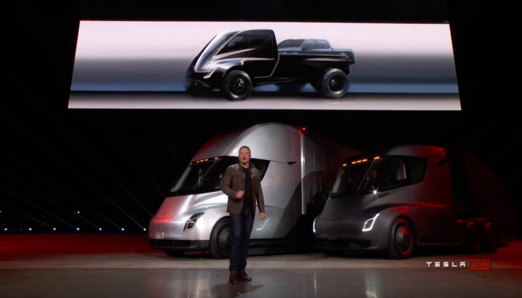 Elon Musk Promises 'Game Changing' Feature on Tesla Pick-Up Truck