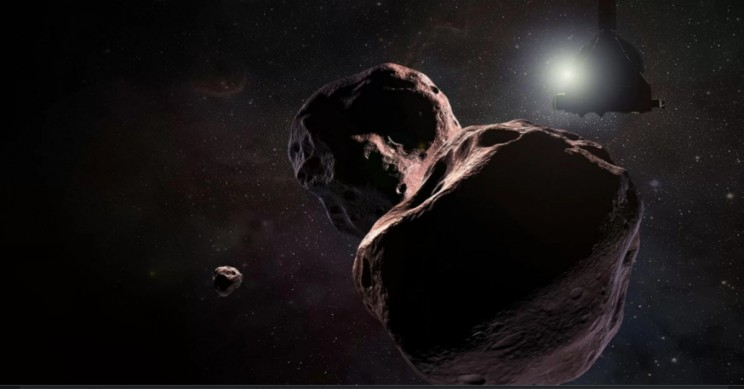 NASA's New Horizons Set to Make Historic New Year's Day Flyby