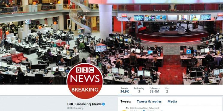 BBC Breaking News Twitter Account