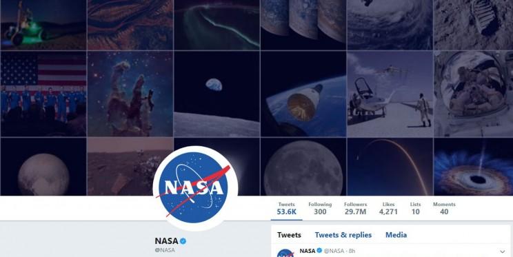 NASA Twitter Account