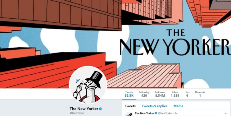 The New Yorker Twitter