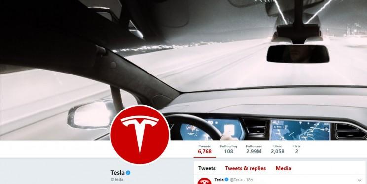 Tesla Twitter Account