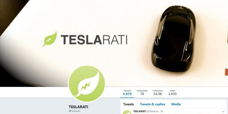 Teslarati Twitter Account