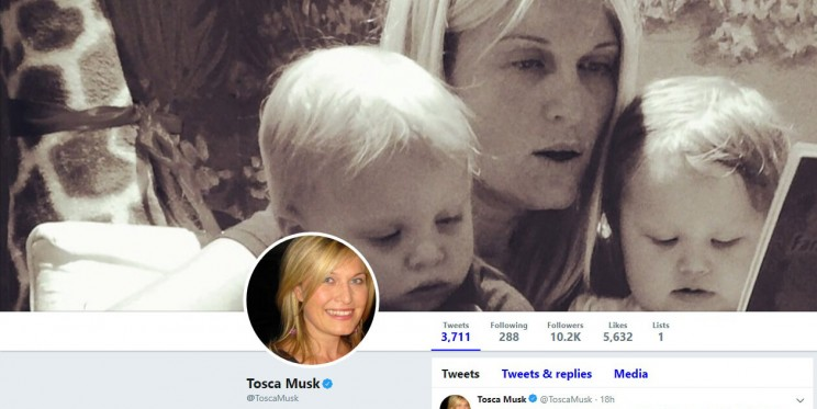 Tosca Musk Twitter Account