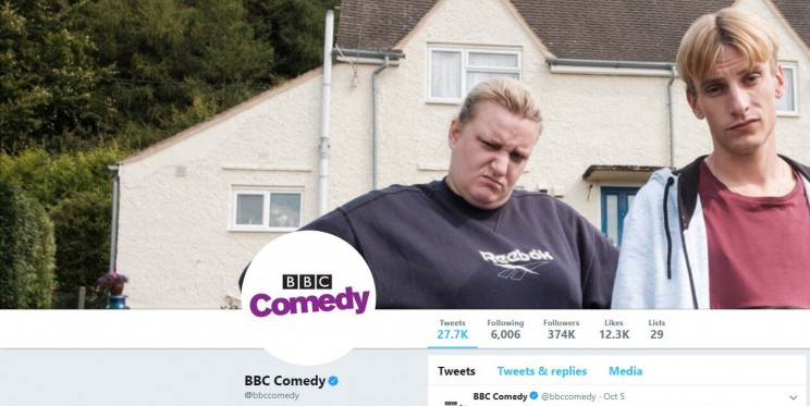 BBC Comedy Twitter Account