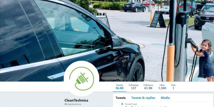 CleanTechnica Twitter Account