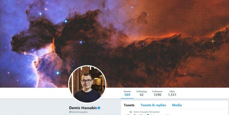 Demis Hassabis Twitter Account