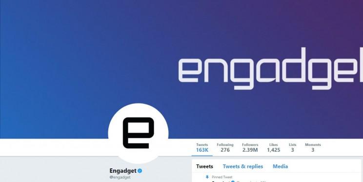 Engadget Twitter