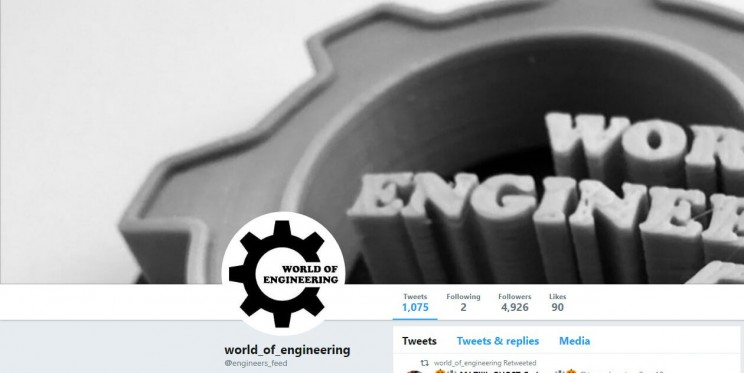 World of Engineering Twitter Account