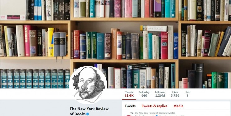 The New York Review Twitter