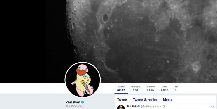 Phil Plait Twitter