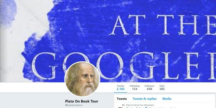 Plato On Book Tour Twitter
