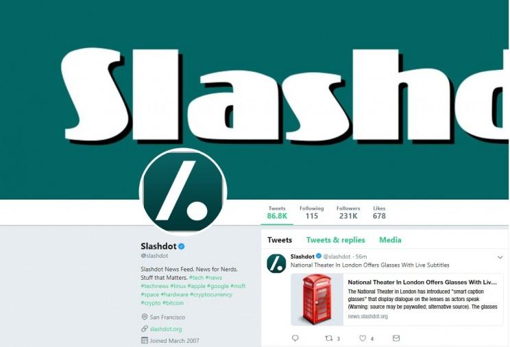Slashdot Twitter Account