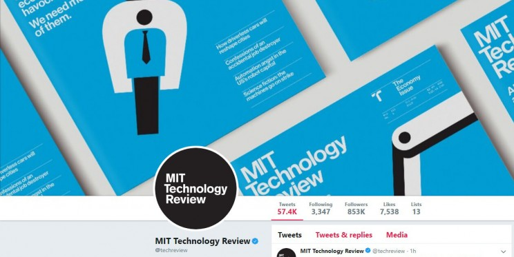 MIT Technology Review Twitter