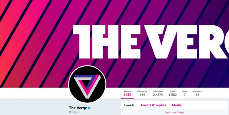 The Verge Twitter