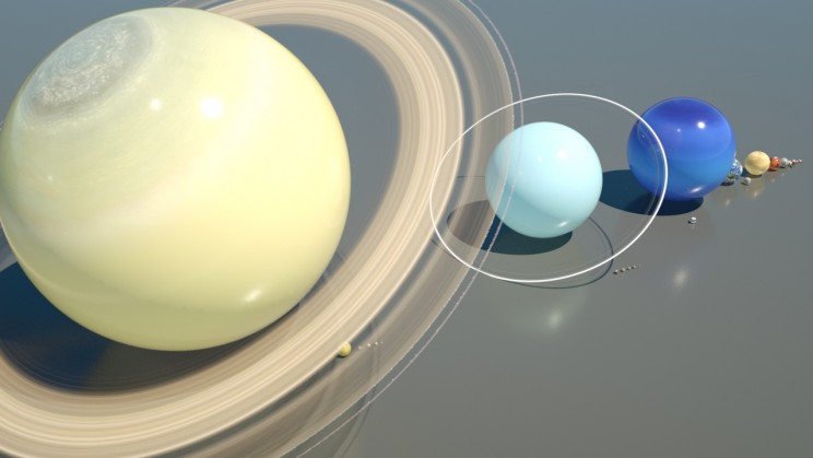 3D Artist Creates Amazing Animation Comparing Planet and Moon Sizes in Our Solar System