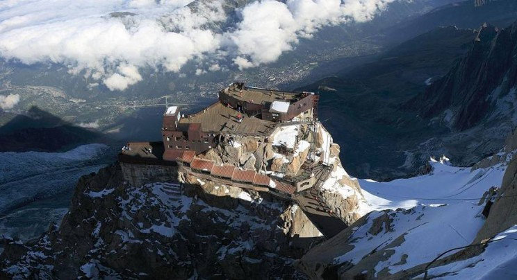 Aiguille du Midi, Home of One the Longest Cable Cars in the World