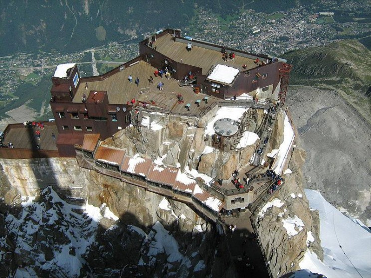 Aiguille du Midi, Home of One the Longest Cable Cars in the