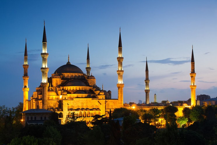 The Blue Mosque, Turkey