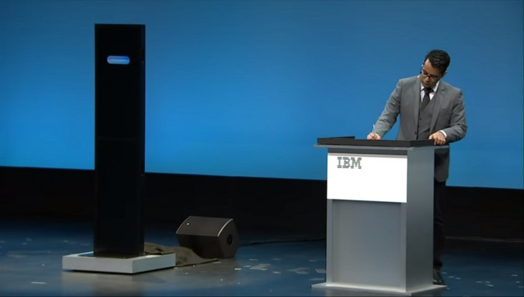 Human Opponent Beat IBM's AI in Debate, AI Shows Promise
