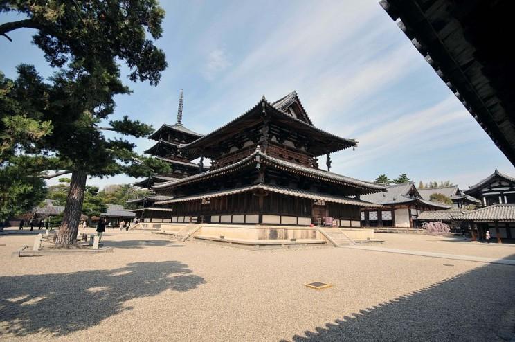 Horyuji Temple, Japan