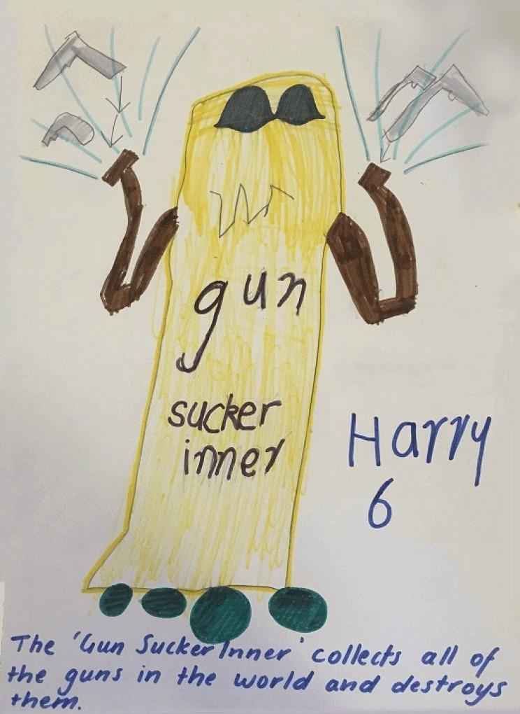 inventions by children gun hoover