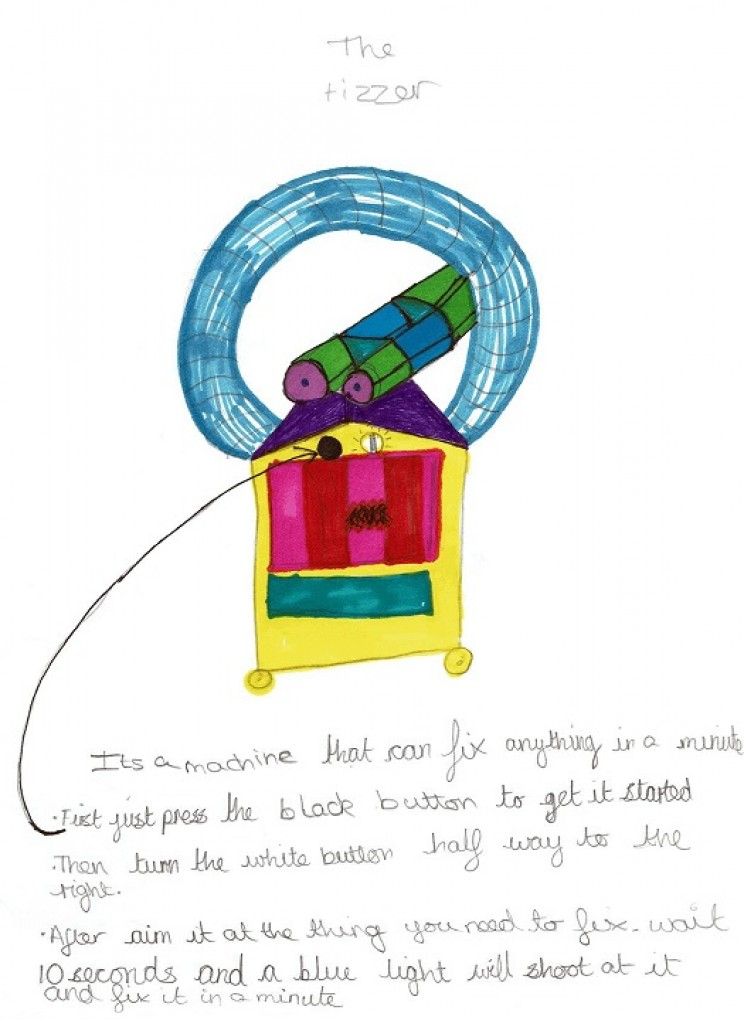 inventions by kids Tizzer