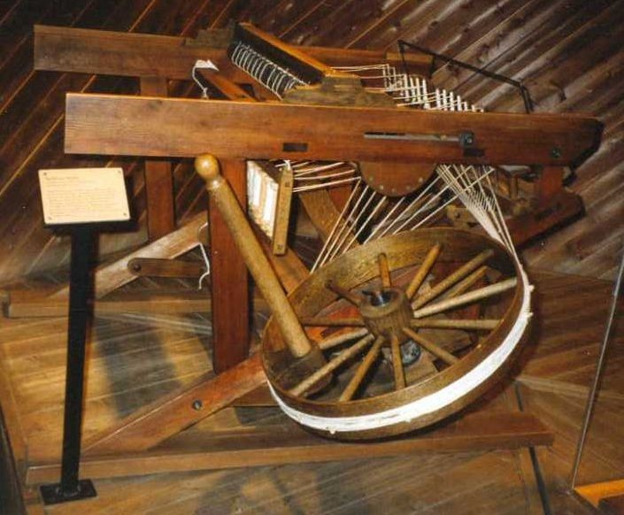industrial revolution in britain spinning jenny