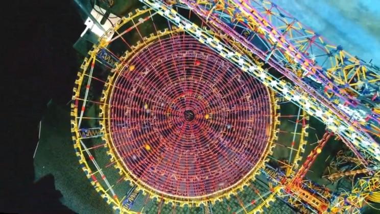 World's Largest K'Nex Machine Shown in Mesmerizing Video