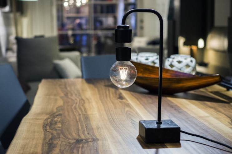 This Levitating Desk Lamp Is Sure to Brighten-Up Your Day