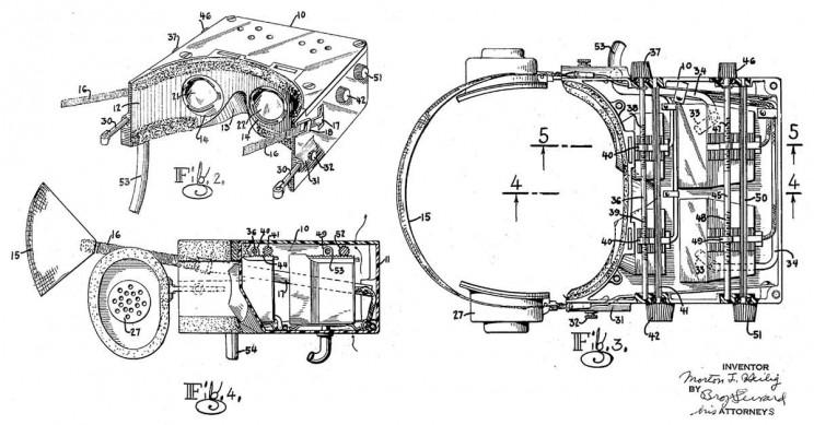 Morton Heilig Telesphere Mask Patent