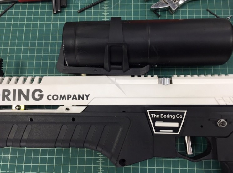 The Boring Company's Flamethrowers All Have Serial Numbers Engraved