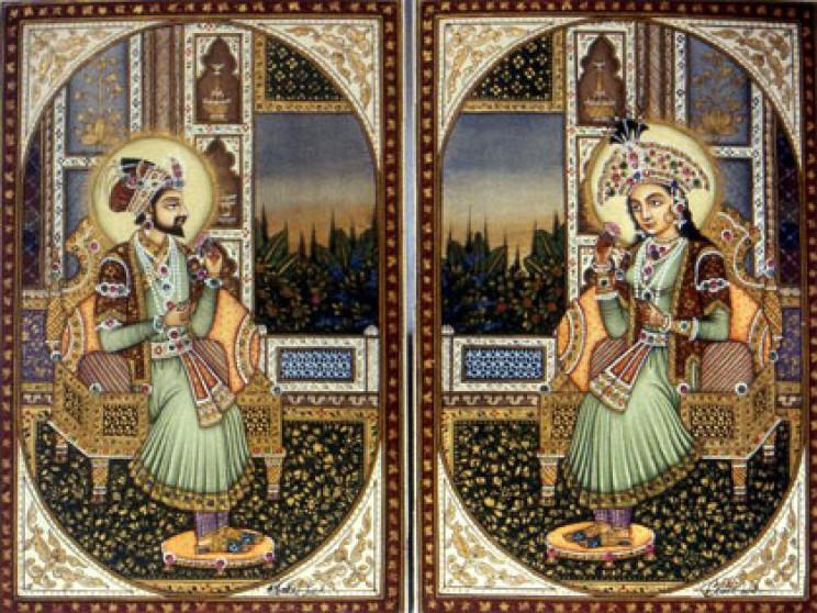 Shahjahan and Mumtaz Mahal