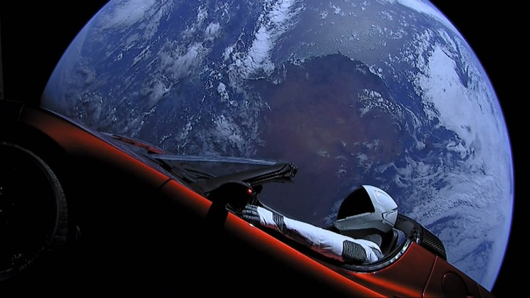 One Year After Launch, Checking in on SpaceX's Starman