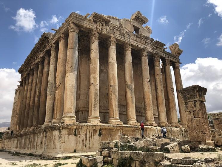 The Temple of Bacchus, Lebanon