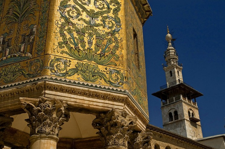 The Great Mosque of Damascus, Syria