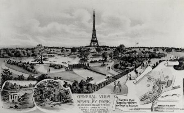 Watkin's Tower: How England Tried to Get Its Own Eiffel Tower, But Couldn't Build It