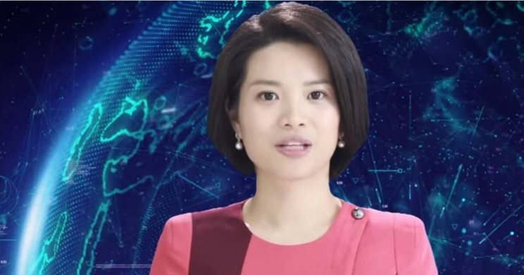 Chinese AI Female News Anchor