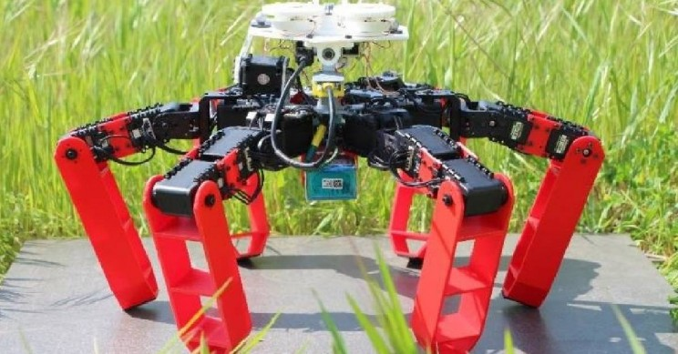 This Is the First Walking Robot That Navigates Without GPS