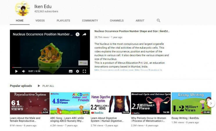 biology youtube channels Iken Edu