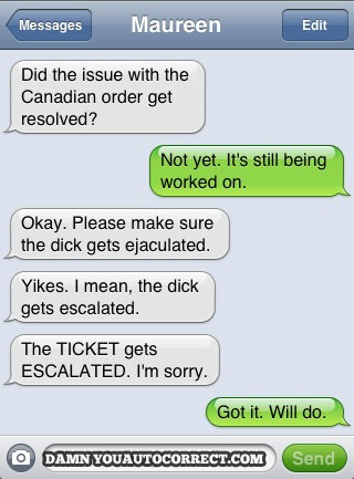 15 Worst Autocorrect Mistakes People Have Sent Their Bosses
