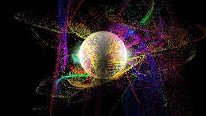 Movement of Quantum Particles Observed in High Resolution
