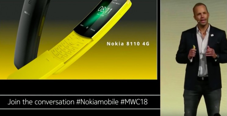 "The Iconic Nokia 8110 from ""The Matrix"" is Back with 4G Internet"