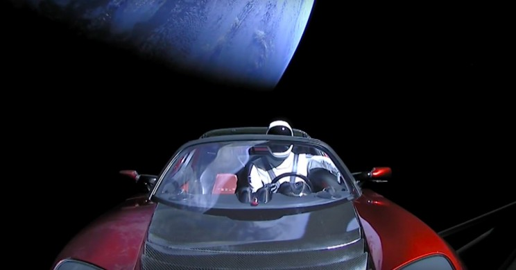 This Website Lets You Track Elon Musk's Tesla Roadster and Spaceman Through Space