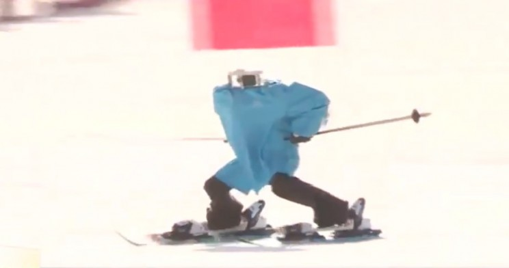 Watching These Robots Fail to Ski Will Make You Worry Less About Robot Apocalypse
