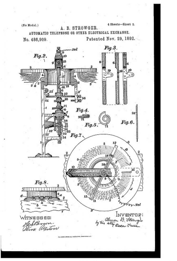 rotary phone patent