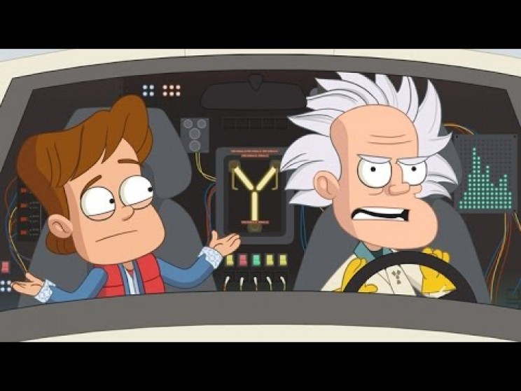 Science Cartoons back to the future